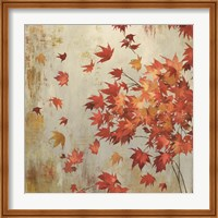 Crimson Foliage Fine-Art Print
