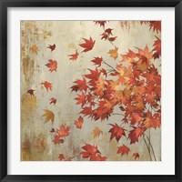 Crimson Foliage Fine-Art Print
