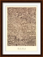 Antique Urbis Imago I, (The Vatican Collection) Fine-Art Print