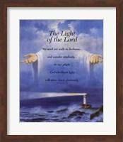 Lighthouse and Jesus Fine-Art Print