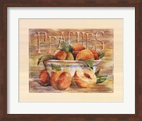 Fruit Stand Peaches Fine-Art Print