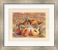 Fruit Stand Peaches Fine-Art Print