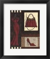 Fashion Collage I - mini Fine-Art Print