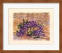 Fruit Stand Grapes Fine-Art Print
