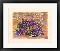 Fruit Stand Grapes Fine-Art Print