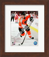 Danny Briere 2009-10 Action Fine-Art Print