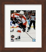 Mike Richards 2010 NHL Winter Classic Action Fine-Art Print