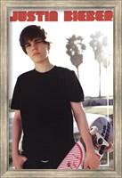 Justin Bieber - Skateboard Wall Poster