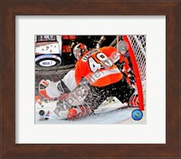 Michael Leighton 2009-10 Playoff Action Fine-Art Print