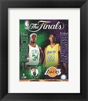2009-10 NBA Finals Matchup Composite Fine-Art Print