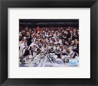 2009-10 Chicago Blackhawks Team Celebration on Ice Fine-Art Print