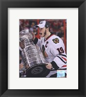 Jonathan Toews with the 2009-10 Stanley Cup (#26) Fine-Art Print