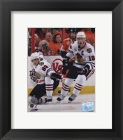 Patrick Kane & Jonathan Toews 2009-10 NHL Stanley Cup Finals Game 3 Action (#11) Fine-Art Print