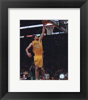 Pau Gasol Game One of the 2009-10 NBA Finals (#3) Fine-Art Print