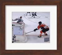 Claude Giroux Game Four of the 2010 NHL Stanley Cup Finals Goal (#15) Fine-Art Print
