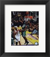 Kendrick Perkins Game Two of the 2009-10 NBA Finals(#4) Fine-Art Print