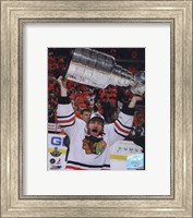 Duncan Keith with the 2010 Stanley Cup (#32) Fine-Art Print