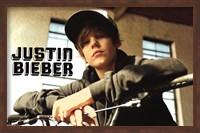 Justin Bieber - Bike Wall Poster