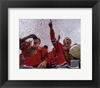 Jonathan Toews & Patrick Kane Chicago Blackhawks 2010 Stanley Cup Champions Victory Parade (#60) Fine-Art Print