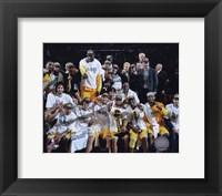 LA Lakers 2010 Finals Champs sit down Celebration (#32) Fine-Art Print