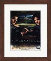 Supernatural (TV) Winchester Brothers Fine-Art Print