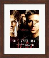 Supernatural (TV) Sam Dean & John Winchester Fine-Art Print