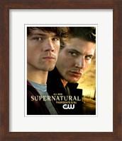Supernatural (TV) Sam & Dean Winchester Fine-Art Print