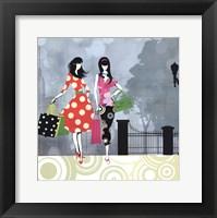 Girls Gone Shopping Fine-Art Print
