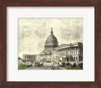 The Capitol -East Front Fine-Art Print