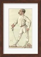 Vanity Fair Fencing Fine-Art Print