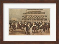 The Grand Steeple Chase I Fine-Art Print
