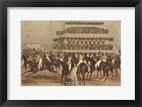 The Grand Steeple Chase I Fine-Art Print