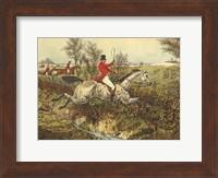 The English Hunt I Fine-Art Print