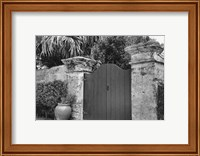 Old Bermuda Gate I Fine-Art Print