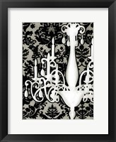 Small Patterned Chandelier I (P) Fine-Art Print