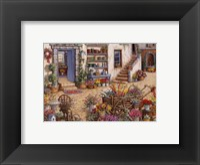 Courtyard Flower Shoppe Fine-Art Print