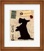 Scottie Silhouette Fine-Art Print