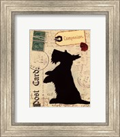 Scottie Silhouette Fine-Art Print