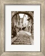 Village Passageway Fine-Art Print