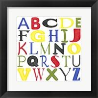Kid's Room Letters Fine-Art Print