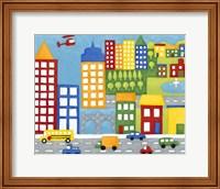 Storybook City Fine-Art Print