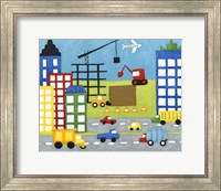 Storybook Construction Site Fine-Art Print