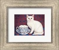 Tea Time With Angel Fine-Art Print