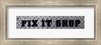 Dad's Fix It Shop Fine-Art Print