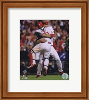 Roy Halladay throws second no-hitter in MLB history Fine-Art Print