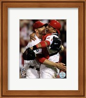 Roy Halladay throws the second no-hitter in MLB postseason Fine-Art Print