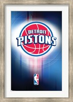 Pistons - Logo 10 Wall Poster
