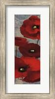 Kindle's Poppies I Panel Fine-Art Print