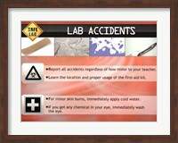 Lab Accidents Wall Poster