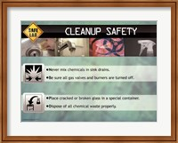 Cleanup Safety Wall Poster